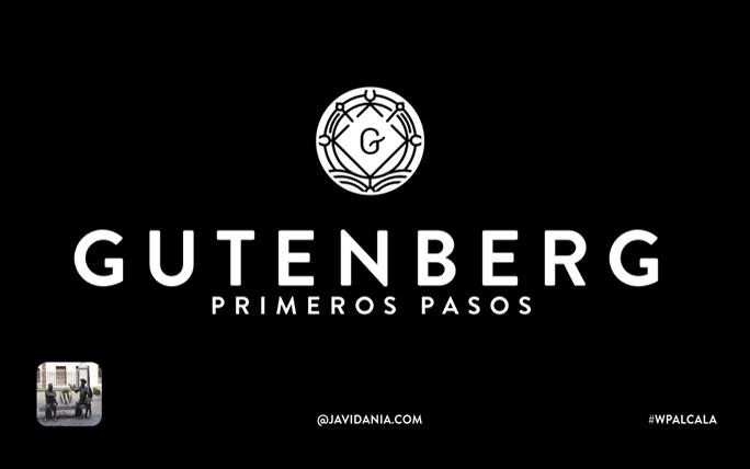 Gutenberg-primeros-pasos
