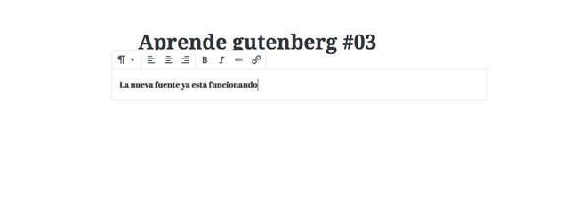 gutenberg-editor-google-font
